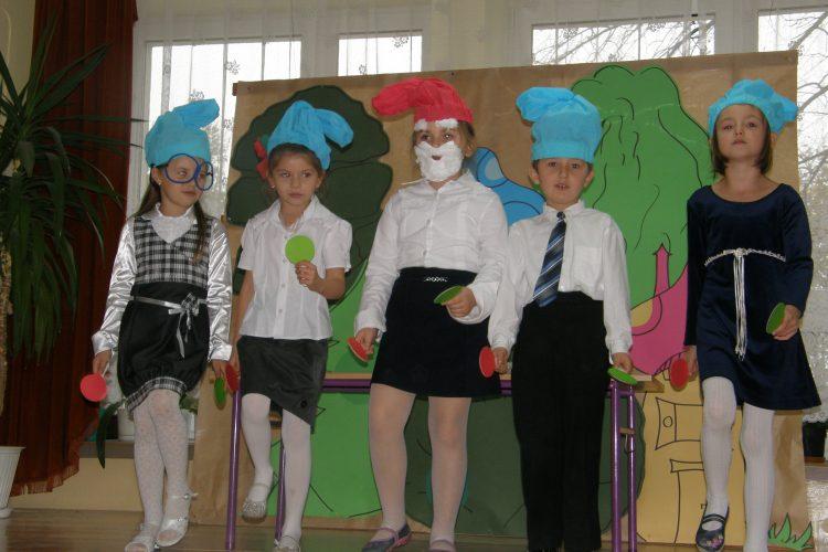 19.10. 2010r. Uroczyste Ślubowanie uczniów klasy pierwszej.