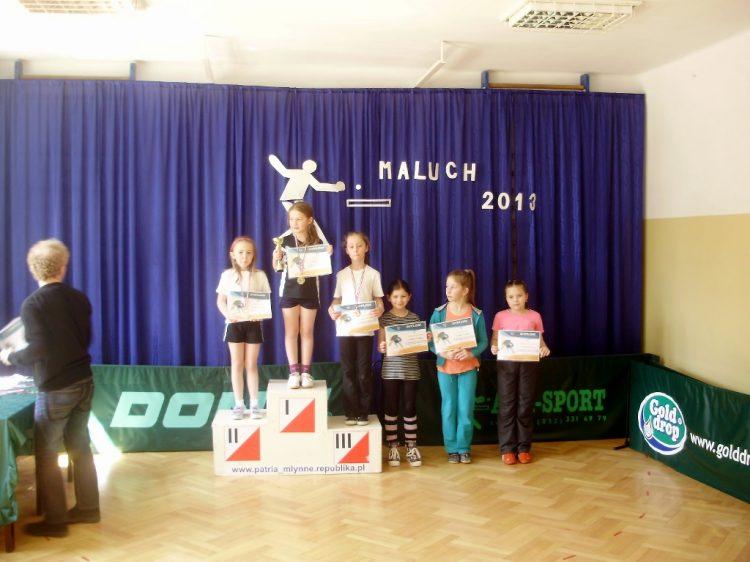 IV Turniej Tenisa Stołowego dla klas I-III o Mistrzostwo Gminy Limanowa – 15.04.2013r. Młynne