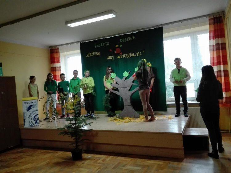 Święto Drzewa w naszej szkole