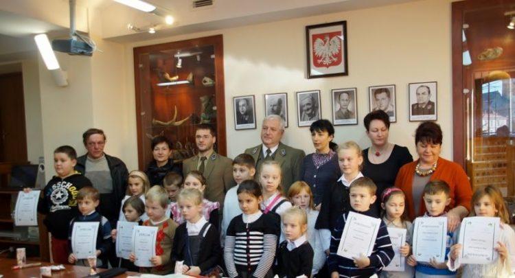 Szkoła w Kaninie reprezentantem gminy w konkursie organizowanym przez Nadleśnictwo w Limanowej