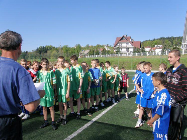 """11.05.2011 Stara Wieś 1 Eliminacje grupowe do  ,,mini 7 chłopców"""""""