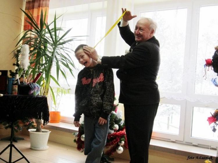 Odrobina magii w szkole :) 11.01.2013