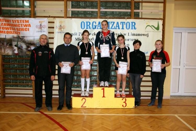 Powiatowe zawody w tenisa stołowego  22.11.2012
