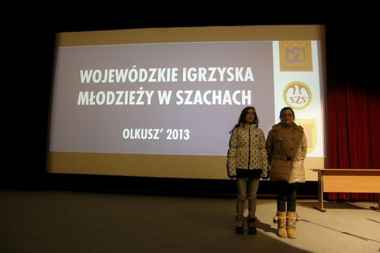 Finał Mistrzostw Małopolski w szachach -Olkusz 07.03.2013