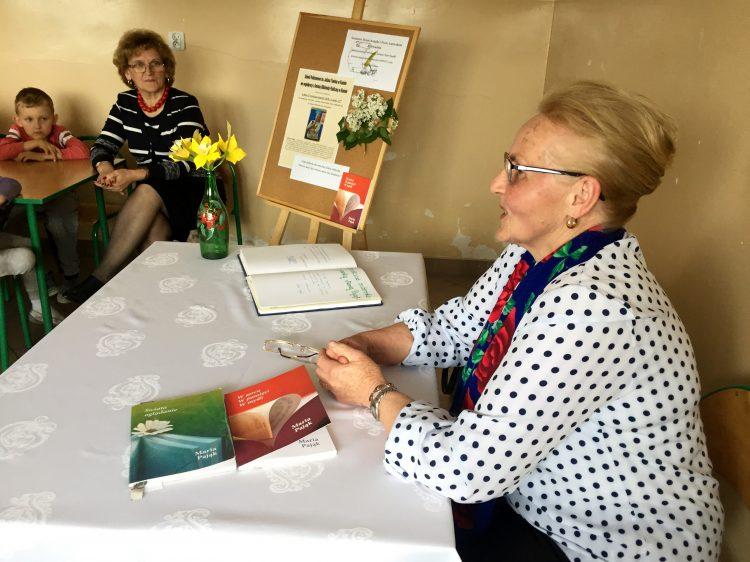 Spotkanie autorskie z poetką Marią Pająk