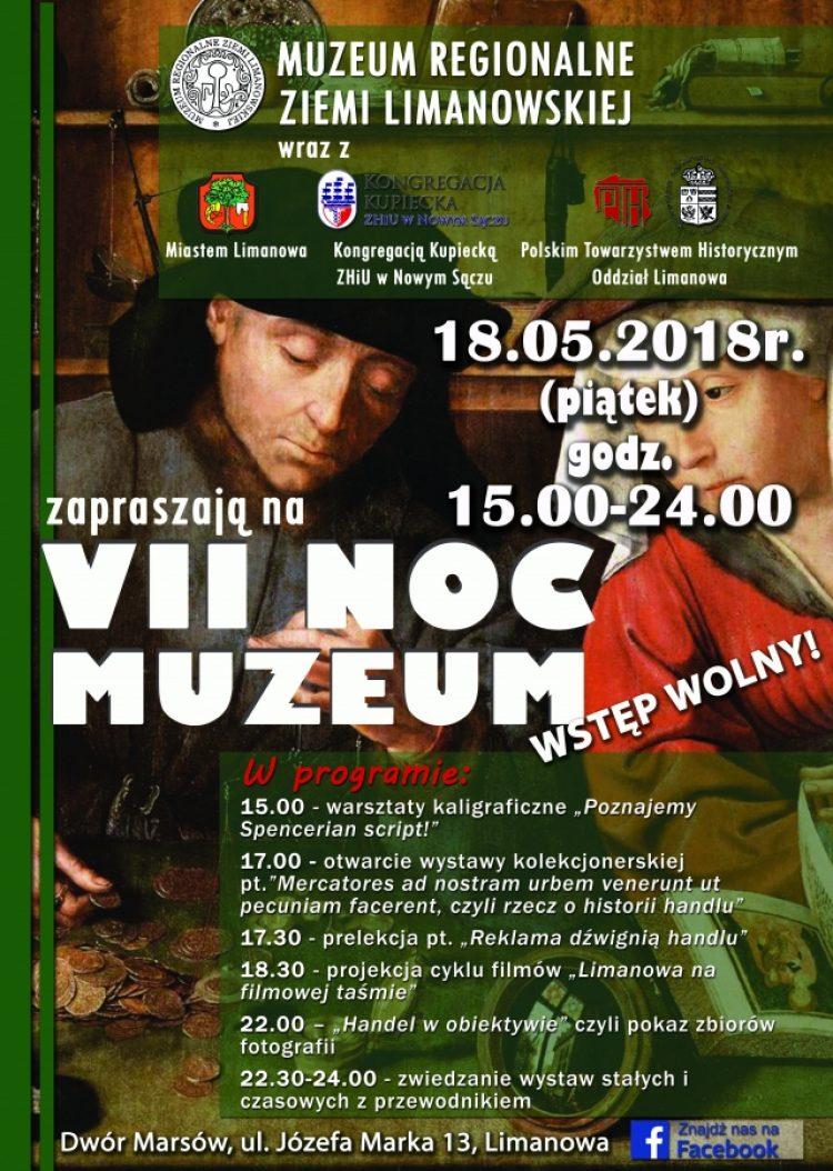 Noc Muzeum  18.05.2018  ogólnopolska akcja propagowania kultury. Wstęp wolny. Zapraszamy.