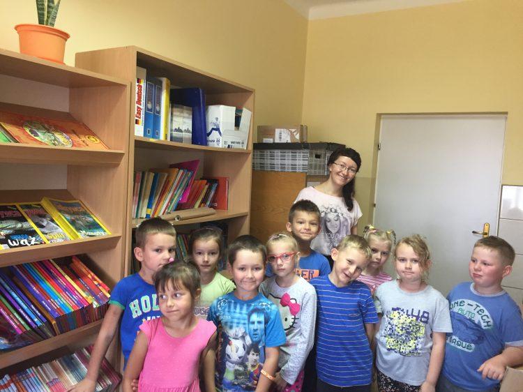 21.09.2018 Wizyta pierwszaków w bibliotece szkolnej.