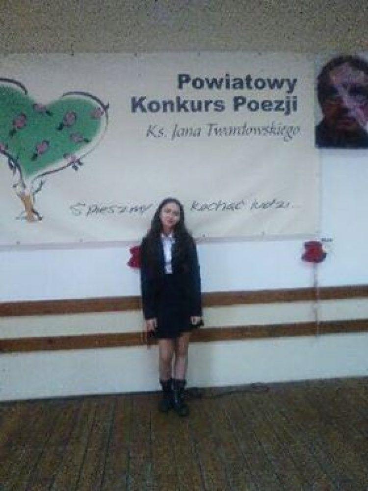 XV Edycja Powiatowego Konkursu Poezji Księdza Jana Twardowskiego.
