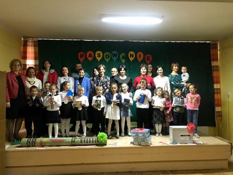 Uroczystość Pasowania na Przedszkolaka 21.11.2018