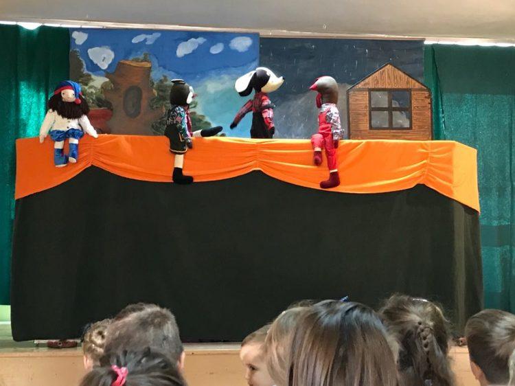 """Teatrzyk kukiełkowy ,,Muzykanci z Bremy"""""""