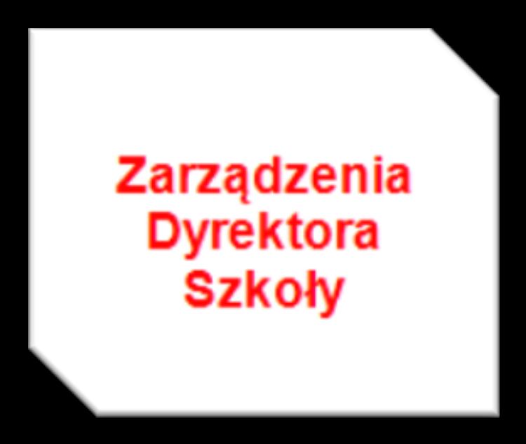 Zarządzenie Dyrektora SP Kanina