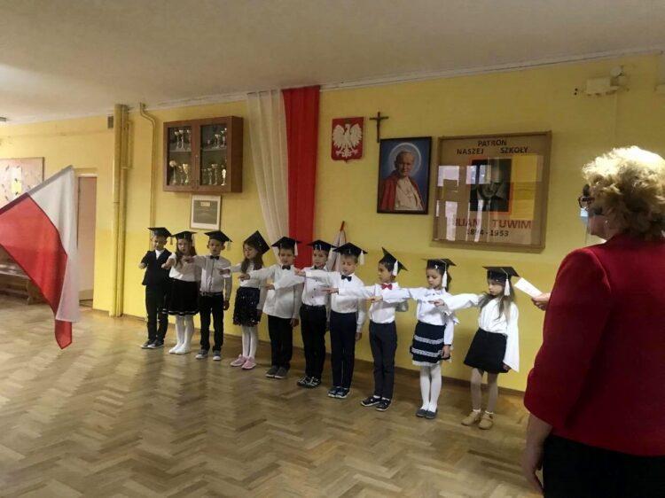 Ślubowanie uczniów klasy 1
