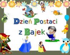 Biblioteka szkolna zaprasza do udziału w obchodach Międzynarodowego Dnia Postaci z Bajek -Quiz