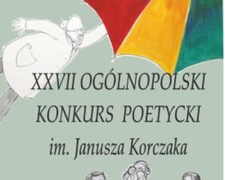 Ogólnopolski Konkurs Poetycki im. Janusza Korczaka