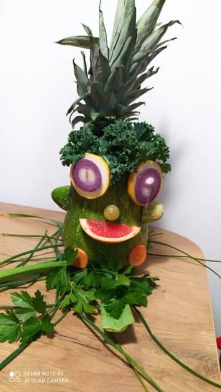 Owoce i warzywa w szkole.