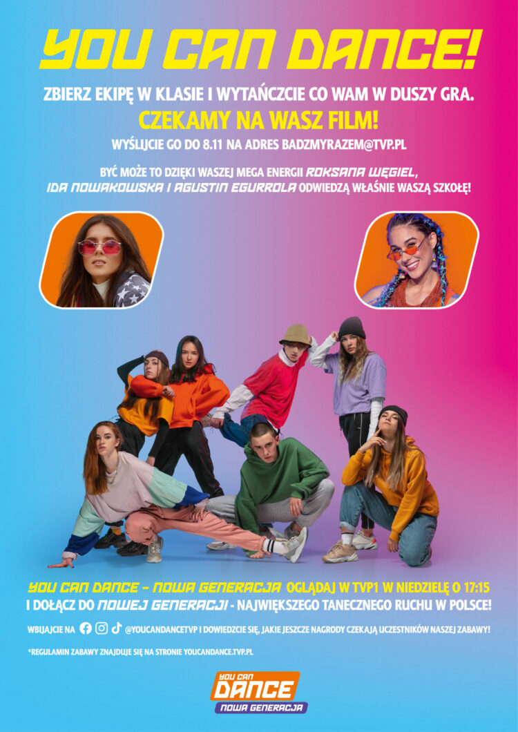 "Konkurs TVP ""You Can Dance – Nowa Generacja""."